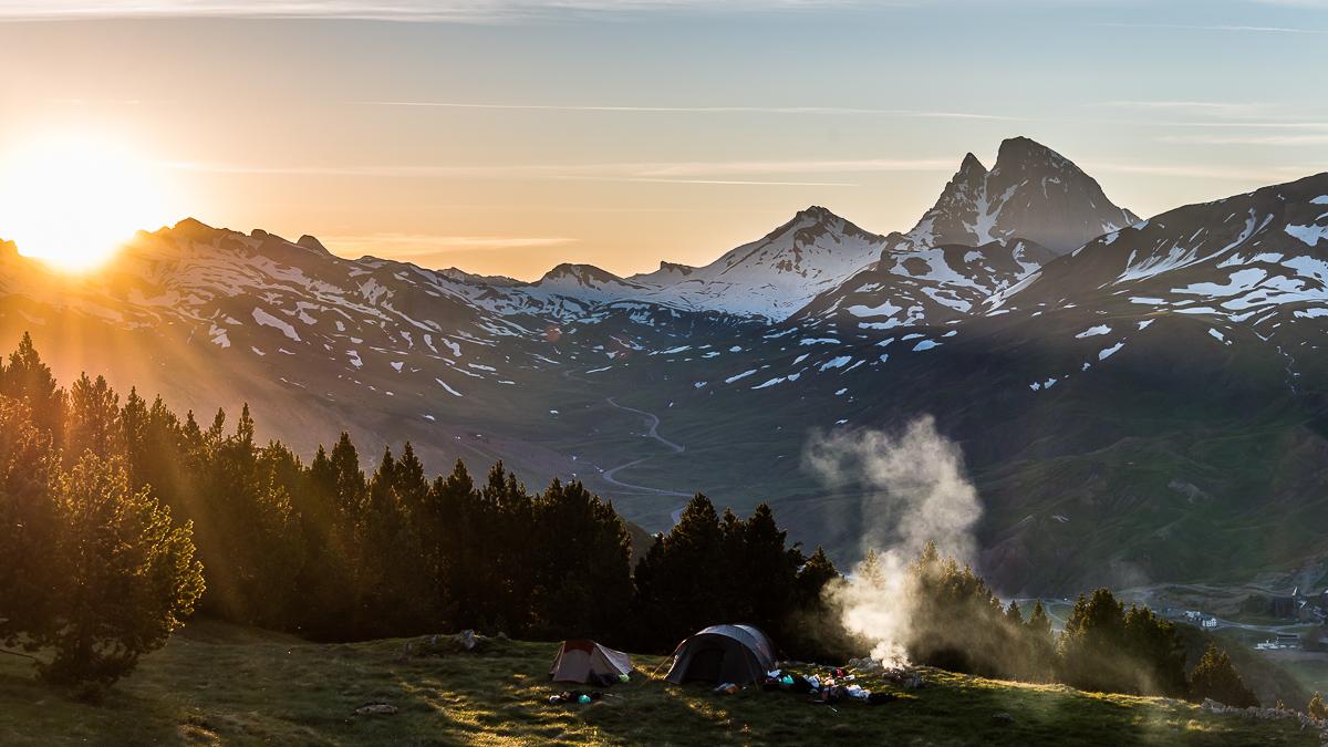 Pic du Midi d'Ossau depuis le Pic Pasino